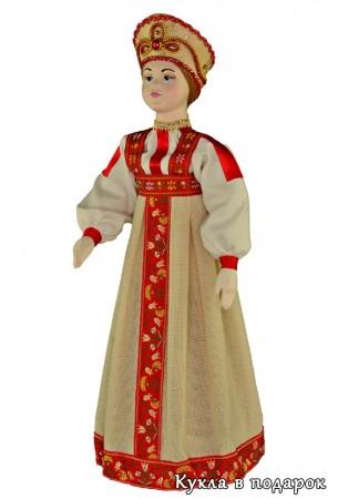 Хороший подарок из Москвы кукла авторской работы