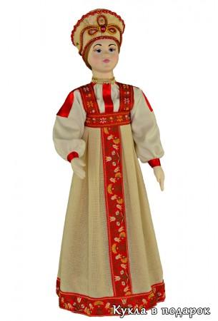 Кукла московский подарок ручной работы