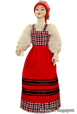 Оригинальный подарок кукла в архангельском костюме