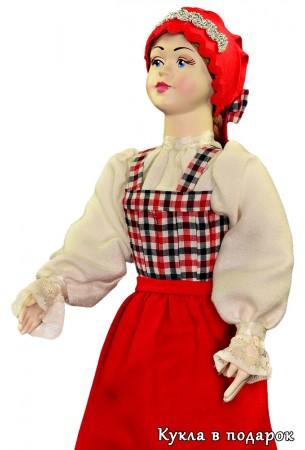 Архангельский подарок кукла в славянском костюме