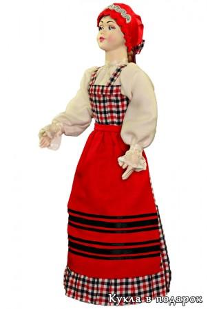 Сувенир в Архангельск авторская кукла