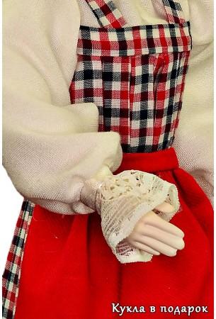 Кружевные манжеты архангельской куклы
