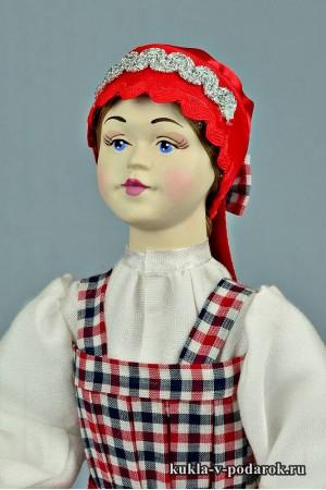 архангельская кукла рукодельное изделие