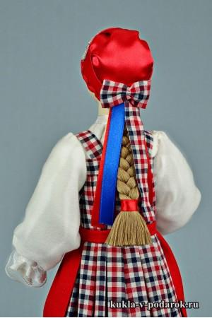 архангельская кукла из фарфора