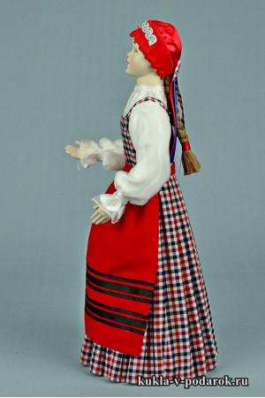 архангельская кукла в женском костюме