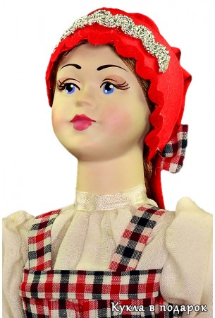 Народный подарок архангельская фарфоровая кукла