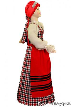 Кукла в народном архангельском костюме