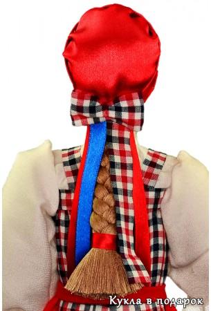 Архангельская кукла с косой