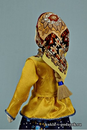 фото вологодская кукла в женском костюме