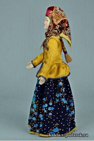 фото вологодская кукла в праздничном костюме
