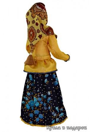 Сувенирная кукла в вологодском костюме