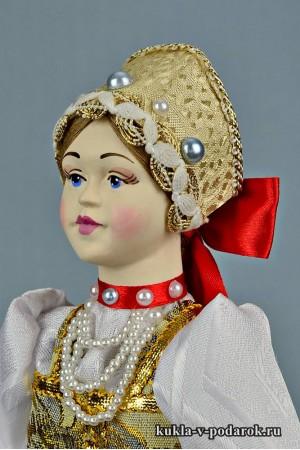 фото нижегородская кукла в русском стиле