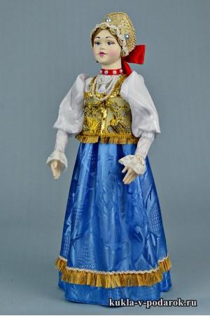 фото нижегородская кукла с красным бантом