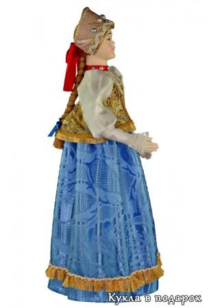 Кукла в народном нижегородском костюме