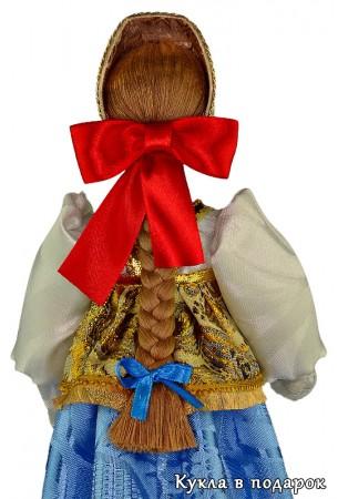 Нижегородская кукла с бантиком и косой