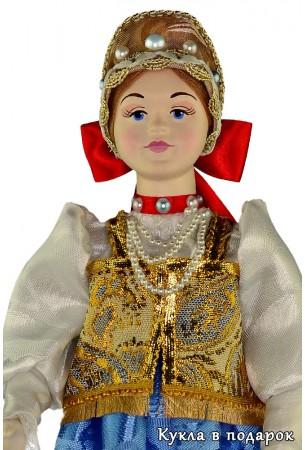 Оригинальный подарок кукла в нижегородском наряде