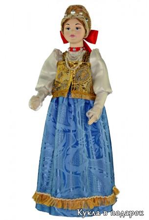 Недорогая русская кукла подарок в Нижний Новгород