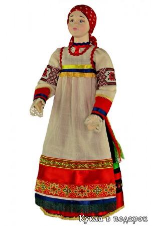 Кукла курский сувенир подарок из Москвы