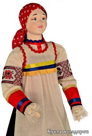Кукла в курском народном костюме