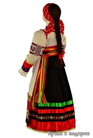 Кукла в народной одежде курской губернии