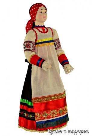 Сувенирная курская кукла