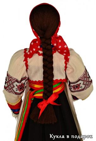 Кукла в платке - курском головном уборе