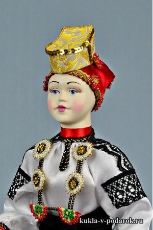 фото воронежская кукла в праздничном костюме