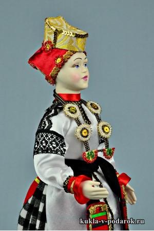 фото воронежская кукла из фарфора