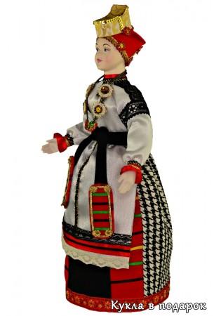 Кукла воронежская краса голова и руки фарфор