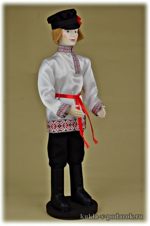 Первый парень на деревне кукла в русской одежде