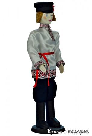 Кукла мужчина в русском стиле