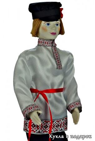 Русская народная кукла мужчина