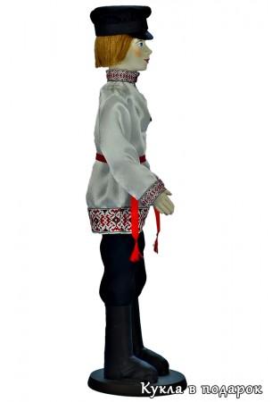 Текстильная кукла русский парень