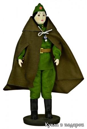 Кукла солдат подарок на 9 мая