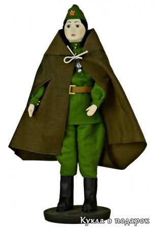 Кукла солдат вернулся с войны