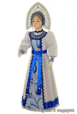 Подарок в интерьер русская интерьерная кукла