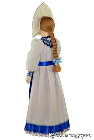 Русская краса длинная коса кукла в интерьер дома