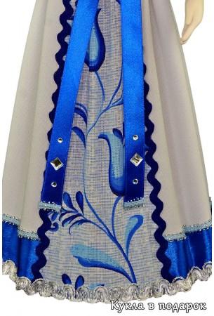 Детали одежды интерьерной куклы из текстиля