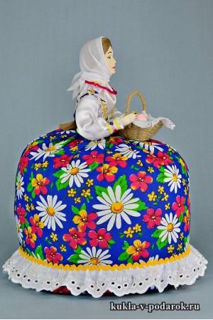 фото подарок на Пасху кукла пасхальная