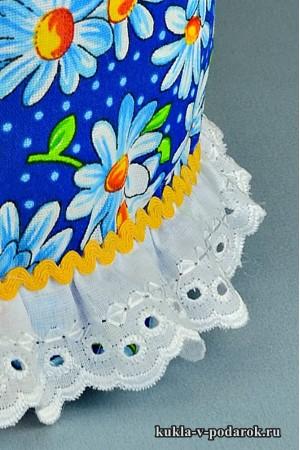 фото подарок на Пасху часть одежды куклы