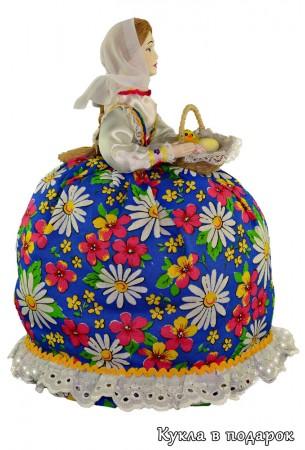 Подарок из Москвы кукла ручной работы