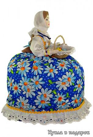 Подарок православному на Пасху кукла на чайник