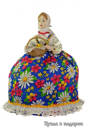 Подарок на православный праздник кукла на чайник