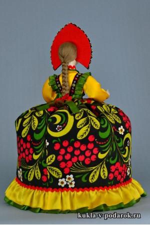 Кукла Хохлома мастерская Кукла в подарок
