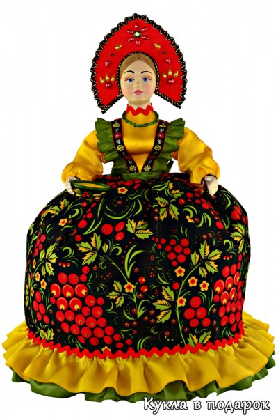 Кукла грелка на чайник