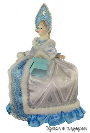 Не очень большая чайная кукла в подарок для кухни