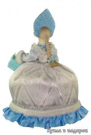 Фарфоровая голова и руки у чайной куклы