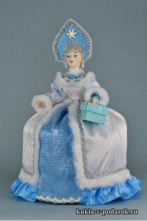 фото чайная кукла красивый подарок на кухню