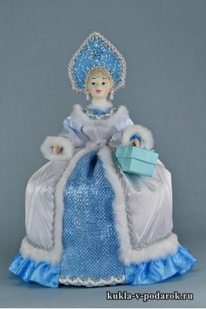 фото чайная кукла изящный подарок женщине
