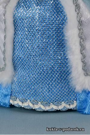 фото чайная кукла детали одежды и фактура ткани